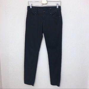 Lilly Pulitzer Worth Skinny Pants Sateen Black 4